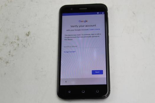 Vodafone Smart Prime 7, 8GB, Unknown Carrier, Google Account Locked, Sold For Parts