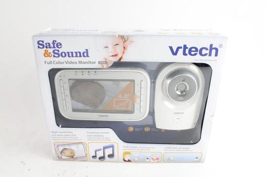 VTech Safe & Sound Full Color Video Baby Monitor