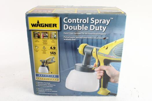 Wagner Control Spray Double Duty Hand-Held Sprayer