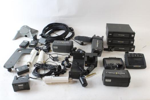 Watch Guard In-Car Video Systems And More, 10+ Pieces