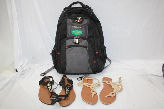 Wet Seal Clothing And Sandle Lot , 4 Pieces