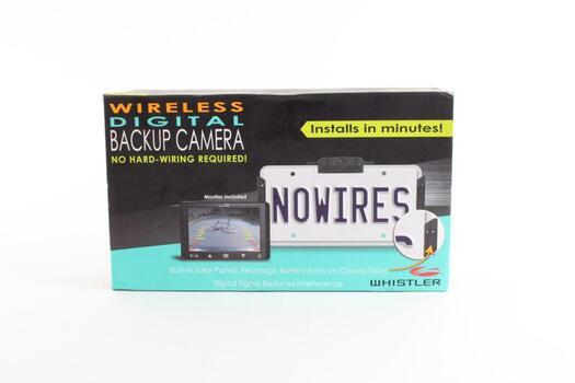 Whistler Wireless Digital Back-up Camera