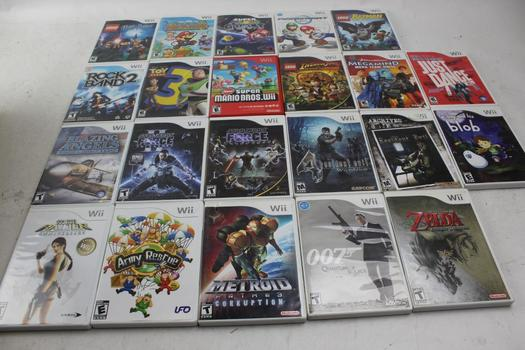 Wii Games: Mario Kart, Resident Evil 4, Rock Band 2 And More: 10+ Games
