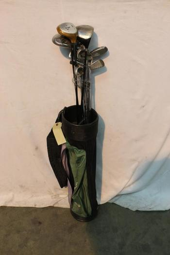 Wilson Bag With Clubs, 10+ Pieces