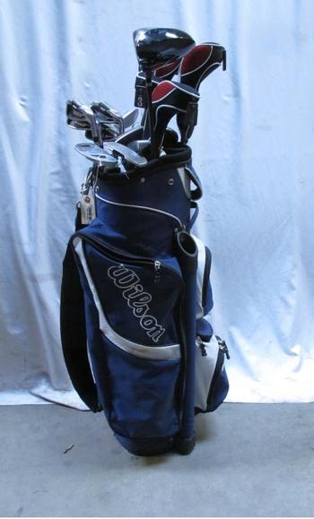 Wilson Golf Bag With Wilson Golf Clubs: 10+ Pieces