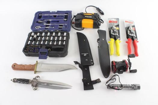 Winchester Knife And More, 8 Pieces