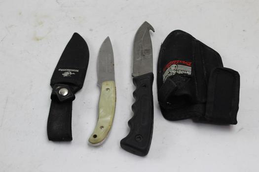 Winchester, Smith & Wesson Knives, 2 Pieces