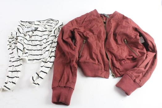Windsor Crop Top Size L And Ambiance Jacket Size S, 2 Pieces