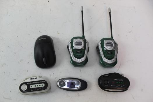 Wireless Fm Transmitter, 2-way Radios And More