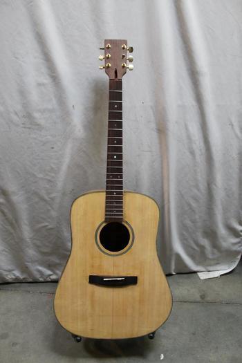 Wood Acoustic Guitar