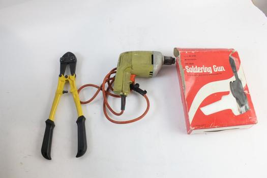 """WorkForce 14"""" Bolt Cutters And More, 5+ Pieces"""