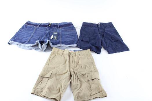 Wrangler Jeans Men, Levi Jeans For Boys, Ralph Lauren Shorts For Women 8 Pieces