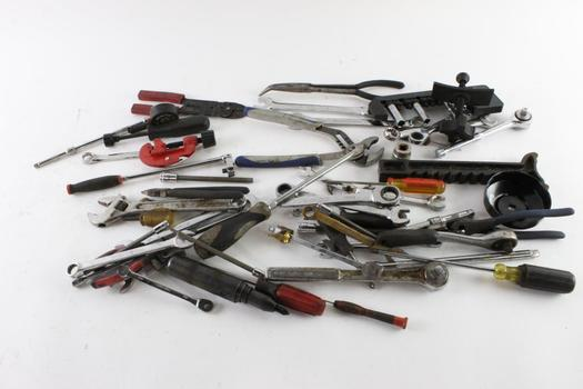 Wrenches, Screw Drivers, And More, 10+ Pieces