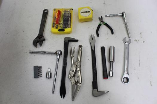 Wrenches, Sockets, Measuring Tapes And More: Craftsman, Husky: 10+ Items