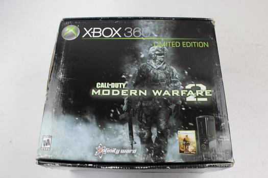 Xbox 360 COD Modern Warfare 2 Limited Edition Game Console