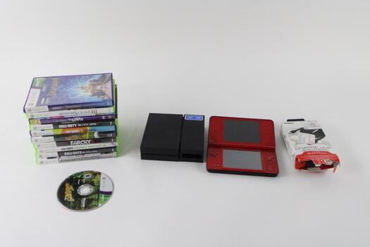 Xbox 360 Game Collection And More, 5+ Pieces