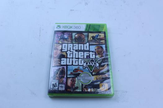 Xbox 360 Game Grand Theft Auto V