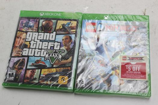 Xbox One Video Games, 2 Pieces