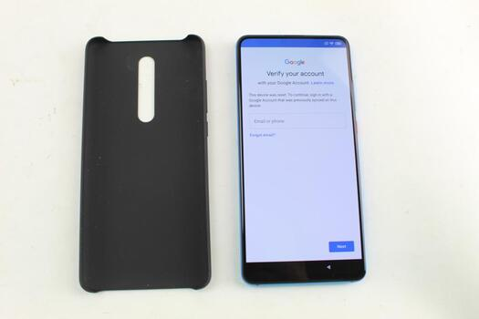Xiaomi Mi 9T, 128GB, Unknown Carrier, Google Account Locked, Sold For Parts