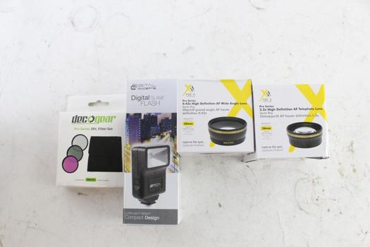 Xit Pro Series Lenses And More, 4 Pieces