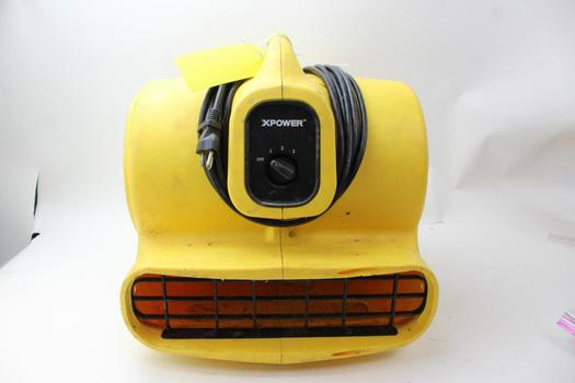 XPower P-600 Electric Air Mover And Dryer