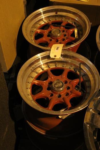 Xxr Red Rims, 4 Pieces