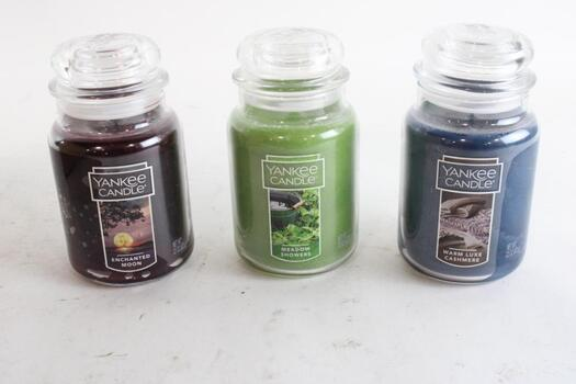 Yankee Candles, 3 Pieces