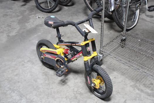 Yellow Kids Tonka Mountain Bike