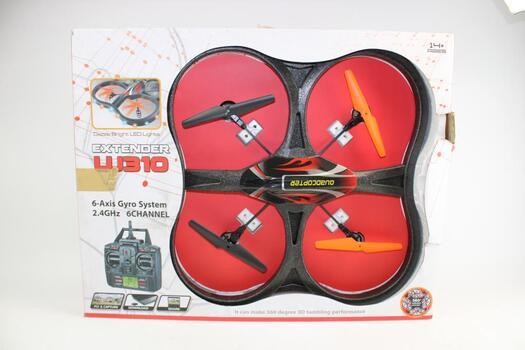 Yiboo Extender 6 Channel Quadcopter (Model UJ310)