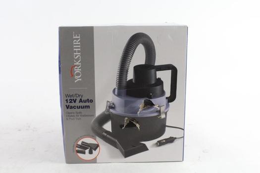 Yorkshire Wet/Dry 12 Volt Auto Vacuum
