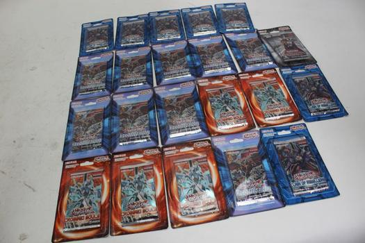 Yu-gi-oh Assorted Trading Cards  22 Pieces