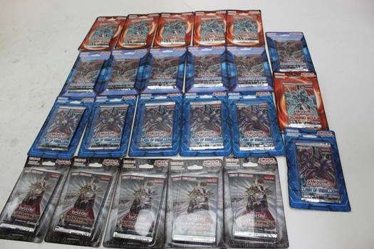Yu-Gi-oh Assorted Trading Cards 23 Pieces