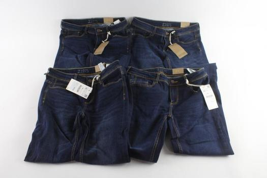 Zara Jeans, Size 4 And 6, 4 Pieces