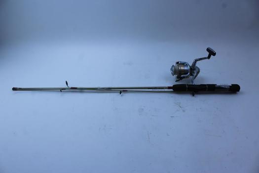 Zebco RT Series Fishing Pole W/Shimano Spinning Reel