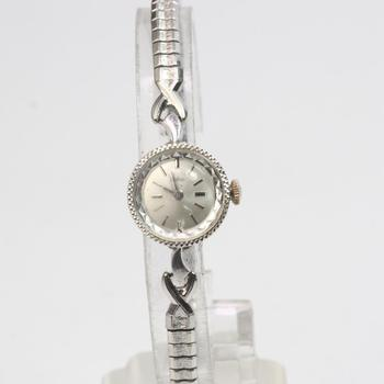 Zodiac Watch With 14kt White Gold Case