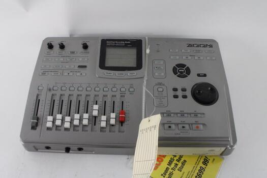Zoom Multitrak Recording Studio Unit