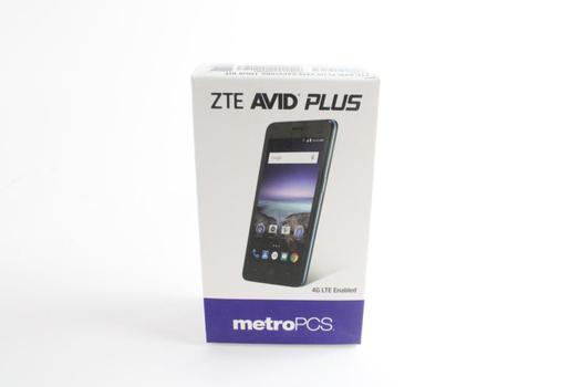 ZTE Avid Plus Smart Phone, Metro PCS