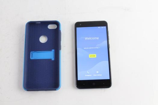 ZTE Blade X, Google Account Locked, Sold For Parts