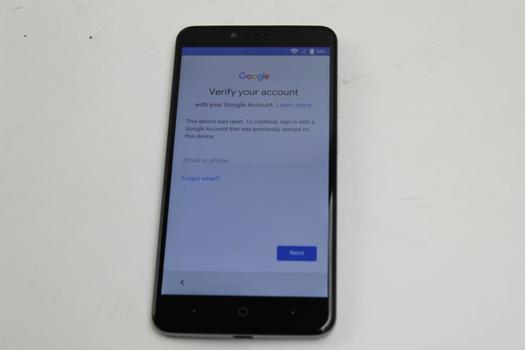 ZTE ZMax Pro, 32GB, MetroPCS, Google Account Locked, Sold For Parts