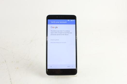 ZTE Zmax Pro, Google Account Locked, Sold For Parts