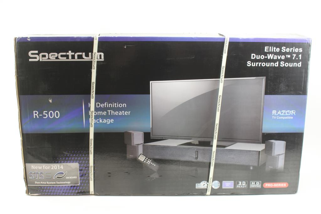 Spectrum R-500 Home Theater System | Property Room