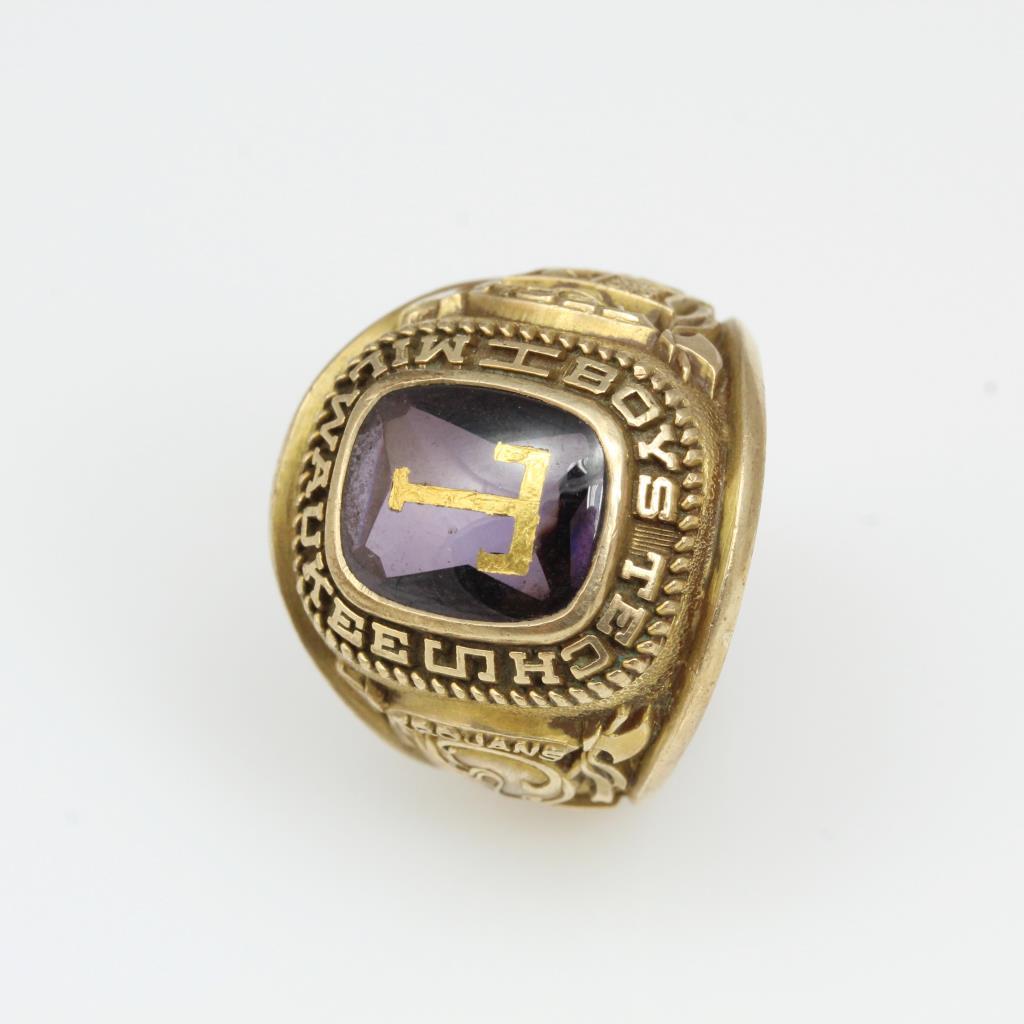 10kt Gold 12.7g Milwaukee Boys Tech High School Class Ring
