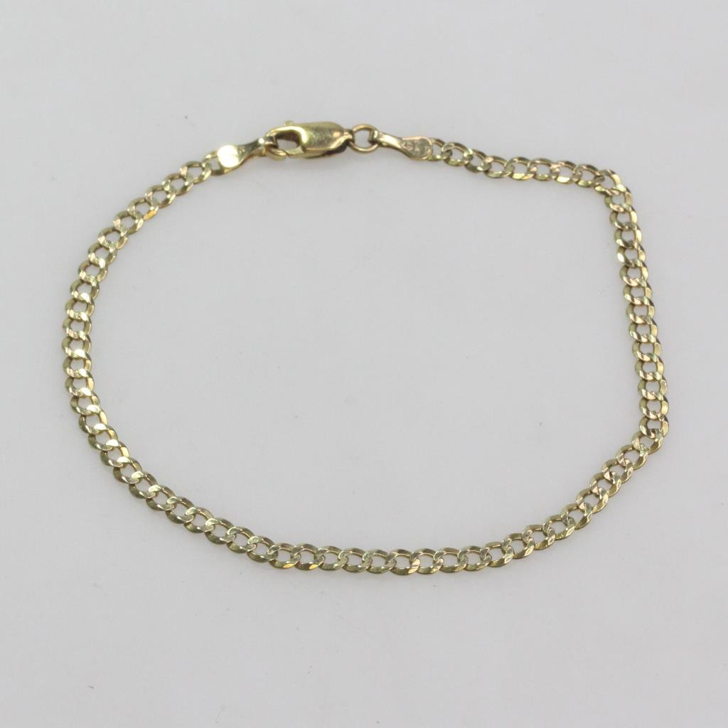 10kt Gold 2 2g Bracelet