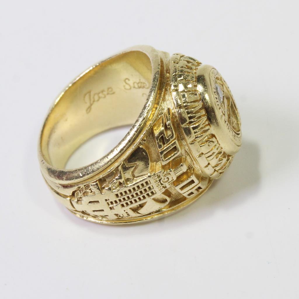 Texas Silver Ring