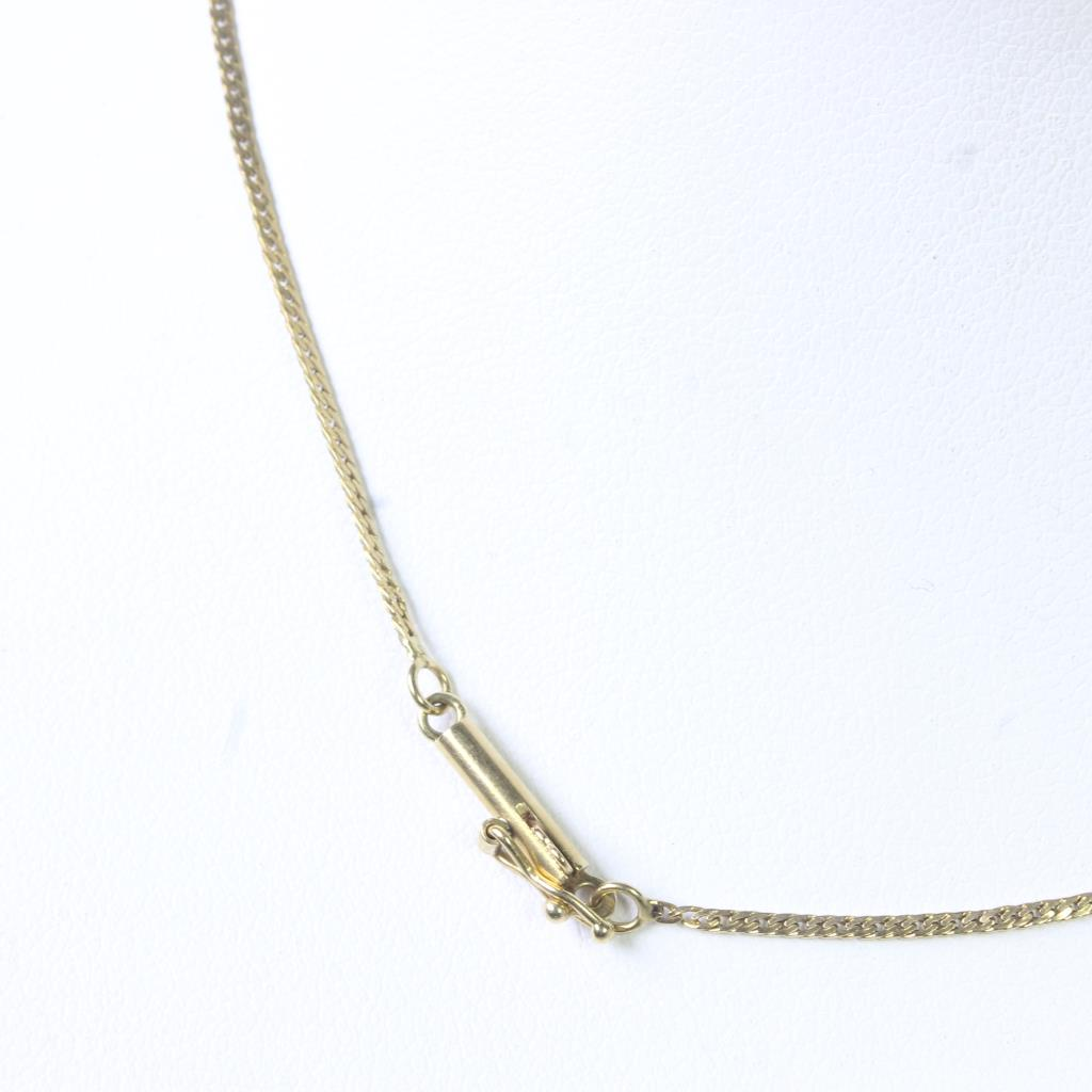 30b39edb8b62a 14kt Gold 3.3g Necklace With 'Precious' Name Pendant With Diamond ...