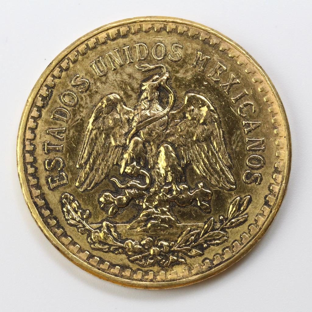 centenario gold mexican 1947 coin 50 pesos