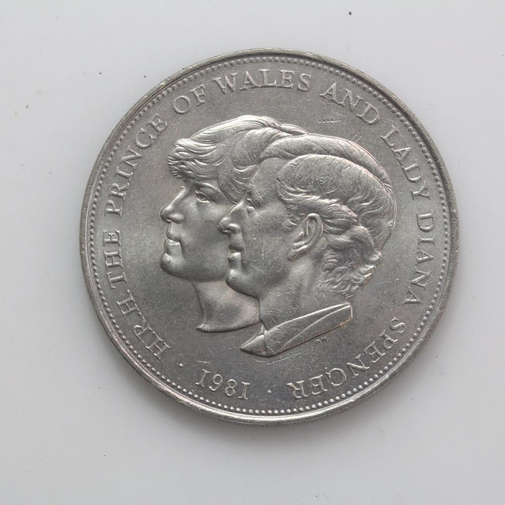lady diana and prince charles coin 1981