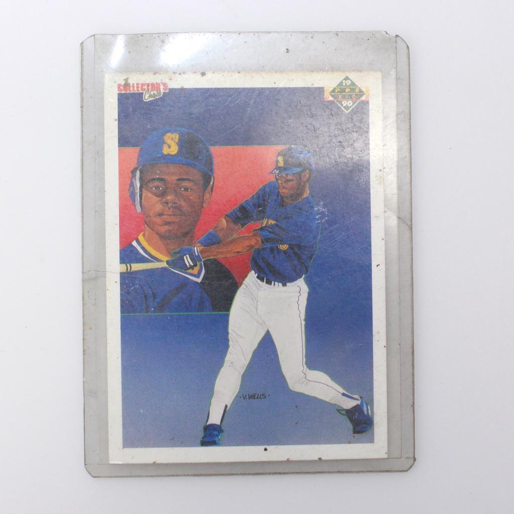 70eee61f02 Image 1 of 2. 1990 Collectors Choice Ken Griffey Jr. Seattle Mariners Upper  Deck Encased Baseball Card