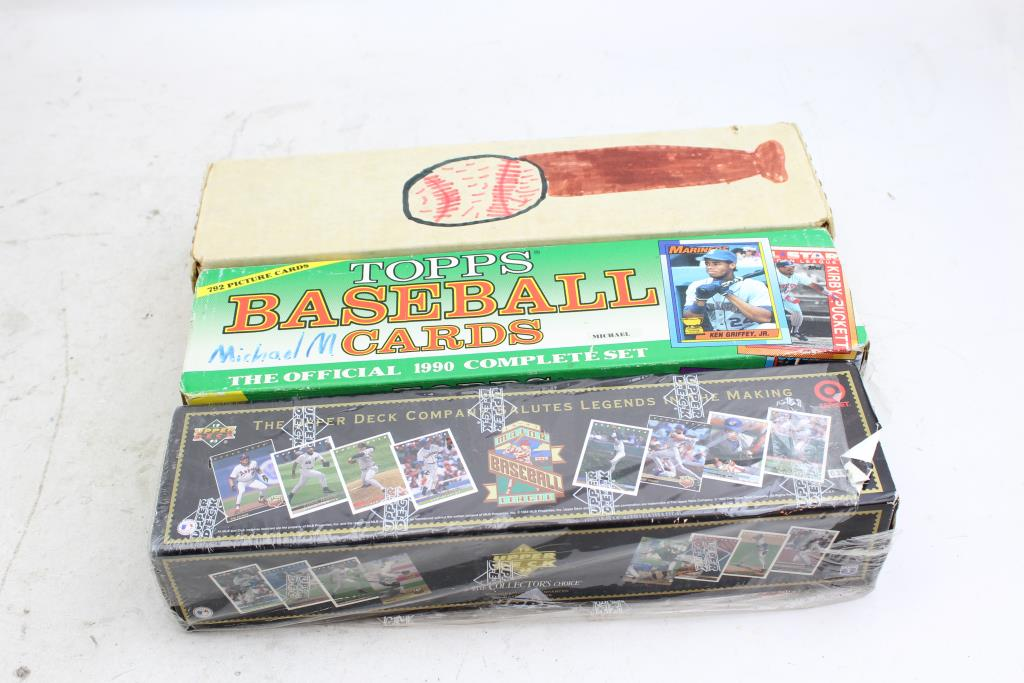 1993 Upper Deck Set 1990 Topps Baseball Cards And More 1500