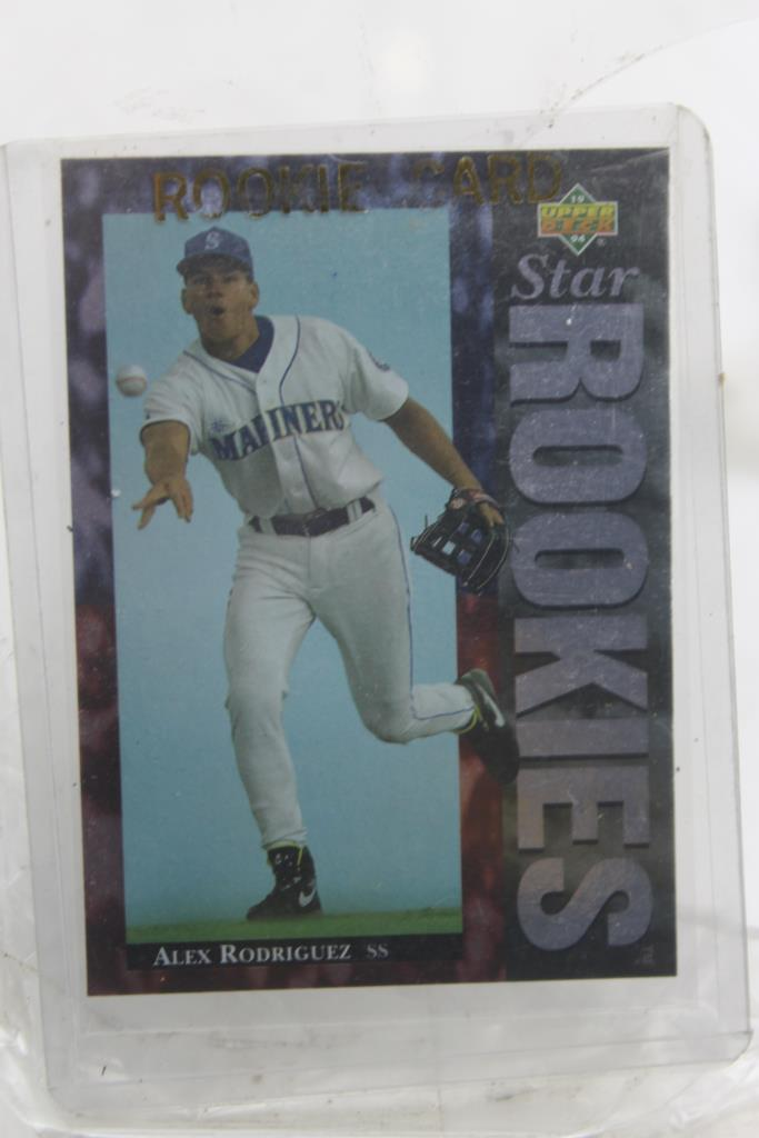 1994 Upper Deck Rookie Card Star Rookies Alex Rodriguez